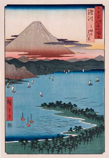 Japanese Woodblock Print Example