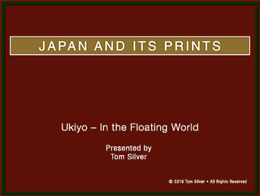 Ukiyo in the Floating World