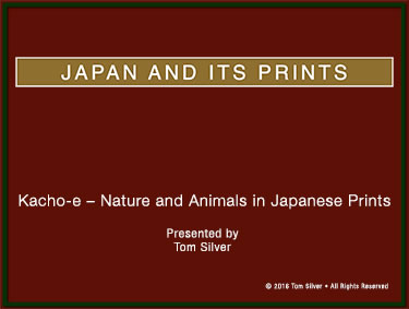 Kacho e Nature and Animals in Japanese Prints